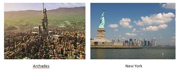 Perbandingan Archades & New York